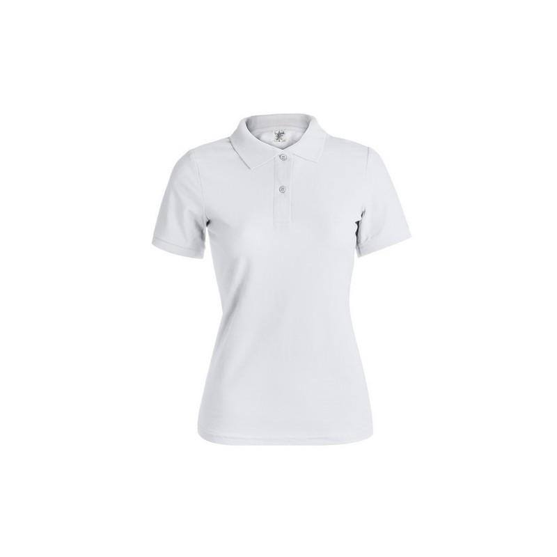 "Polo Mujer Blanco ""KEYA"" WPS180"