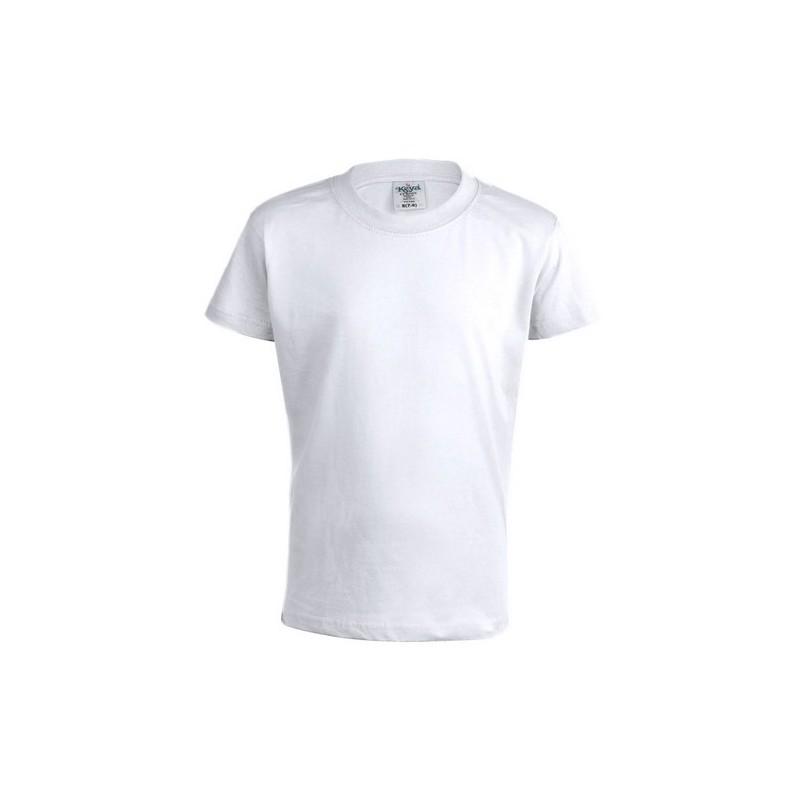 "Camiseta Niño Blanca ""KEYA"" YC150"